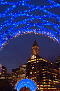 James Kirkikis Art - Christmas Coluimbus Park Boston by James Kirkikis