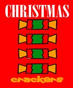 Christian Mixed Media Posters - Christmas Crackers Poster by Patrick J Murphy