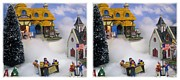 Stereoscopy Photos - Christmas Display - Gently cross your eyes and focus on the middle image by Brian Wallace