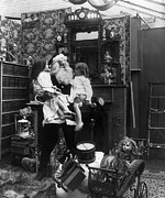 Santa Claus Paintings - CHRISTMAS EVE, c1906 by Granger