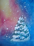 Snowstorm Paintings - Christmas Eve by Sandra Frosst