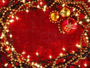 Christmas Frame Print by Carlos Caetano
