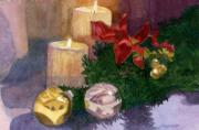 Christmas Time Prints - Christmas Glow Print by Lynne Reichhart