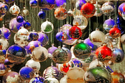 Shiny Photos - Christmas Holiday decor - Mouth blown and hand painted by Christine Till