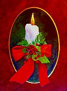 Christmas Card Greeting Cards - Christmas Light by Carolyn Saine