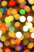 Festive Photo Prints - Christmas Lights Print by Carlos Caetano