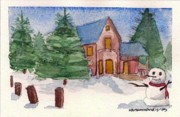 Kostas Koutsoukanidis - Christmas post-card no1