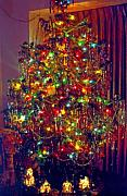 Radiating Digital Art - Christmas Tree 2 by Steve Ohlsen
