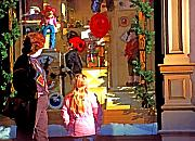 Toys Digital Art - Christmas Window Display 1 by Steve Ohlsen