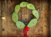 Christmas Wreath Print by John Gusky