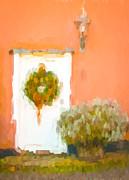 Christmas Wreath Print by Tom Gowanlock