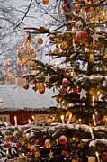 Danish Photos - Christmastime At Tivoli Gardens by Keenpress