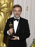 Best Supporting Actor Framed Prints - Christoph Waltz, Best Actor Framed Print by Everett