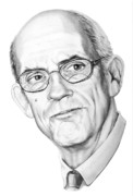 (murphy Elliott) Drawings - Christopher Lloyd by Murphy Elliott