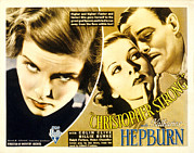 Posth Posters - Christopher Strong, Katharine Hepburn Poster by Everett
