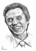 Christopher Drawings - Christopher Walken by Murphy Elliott