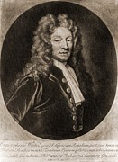 British Portraits Framed Prints - Christopher Wren 1632-1723, British Framed Print by Everett