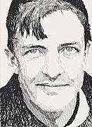 Robbi Musser Drawings - Christy Mathewson by Robbi  Musser