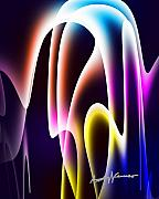 Chromatic Metal Prints - ChromaSine Metal Print by Anthony Caruso