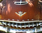 Rusted Cars Prints - Chrome Is Forever 2 Print by Mike Witte