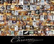 Lamps Sculptures - ChromeSculptures Poster by Mike Previ