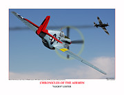 332nd Acrylic Prints - Chronicles Of The Airmen Lucky Lester Acrylic Print by Jerry Taliaferro