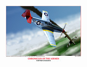 Taliaferro Posters - Chronicles Of The Airmen Toppers Fourth Poster by Jerry Taliaferro