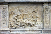 Personification Prints - Chronos Relief in Gdansk Print by Artur Bogacki