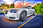Hoop Prints - Chrysler 300 Print by Nicholas  Grunas
