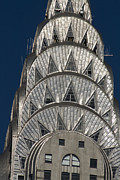 Chrysler Building - New York Print by Martin Cameron