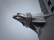Taxi Cab Photos - Chrysler Building Detail by Irina  March
