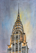 Chrysler Building I Print by Clarence Holmes