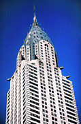 Building Architecture Posters - Chrysler Building Poster by John Greim