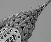 Chrysler Building Photos - Chrysler building by Mike Lindwasser Photography
