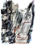 Chrysler Building Digital Art - Chrysler Building by Russell Pierce