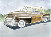 Classic Car Originals - Chrysler by Eva Ason