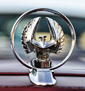 Bruce Lee Posters - Chrysler Imperial Hood Ornament Poster by Paul Ward