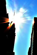 42nd Street Digital Art - Chrysler Sunburst by Jeff Stein