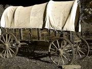 Old West Prints - Chuck Wagon 2 Print by Scott Hovind