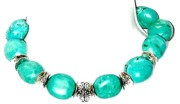 Silver Turquoise Jewelry - Chunky Turquoise Nights by Josette Doyle-Redwolf