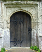 Roberto Alamino Prints - Church Door Print by Roberto Alamino