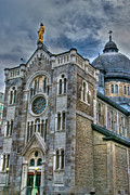 Montreal Streets Metal Prints - Church HDR Metal Print by Mike Horvath