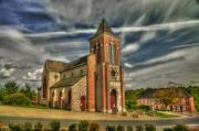 Hans Kool - Church in La Neuvilles...