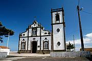 Church In The Azores Print by Gaspar Avila