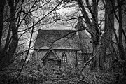 St Margaret Prints - Church In The Woods Print by Dave Godden