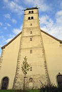 During Art - Church Maria Heimsuchung Meersburg Germany by Matthias Hauser