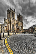 Cobbles Framed Prints - Church of England Framed Print by Adrian Evans