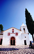 Flooring Prints - Church Of Ojeda, Taxco, Mexico Print by Witold Skrypczak