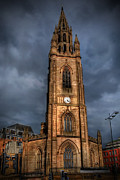 Storm Framed Prints Prints - Church Of Our Lady - Liverpool Print by Yhun Suarez