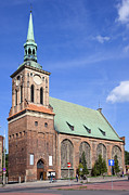 Saint Barbara Prints - Church of Saint Barbara in Gdansk Print by Artur Bogacki
